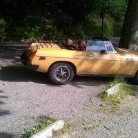 VDS Cabriolet MGB version US 1976